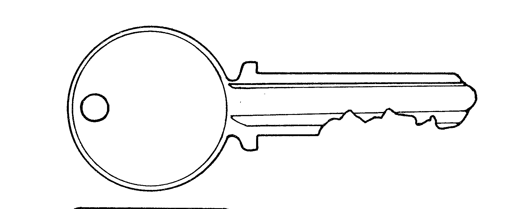 key clipart template - photo #11