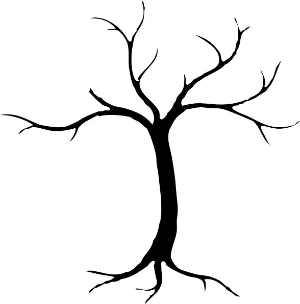 clip art dying tree - photo #19