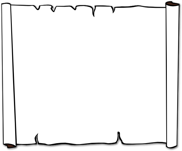 Blank Scroll Template Cliparts Co