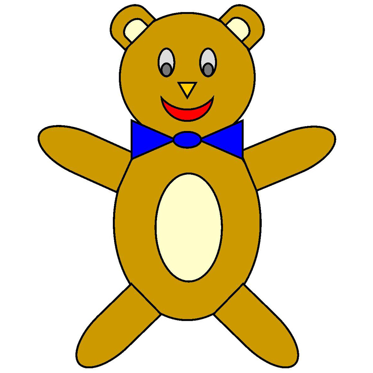 Images For > Bear Clip Art