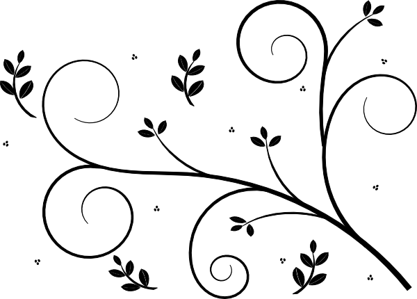Simple floral design clipart thecheapjerseys Choice Image