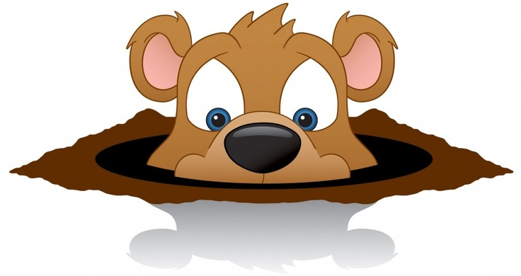 Happy Groundhog Day Clip Art | Groundhog Day | Pinterest