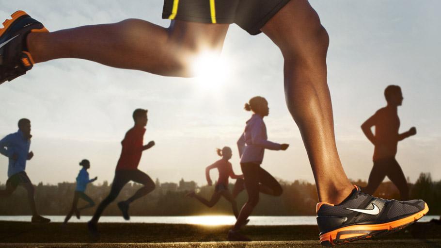 Как сделать в nike running
