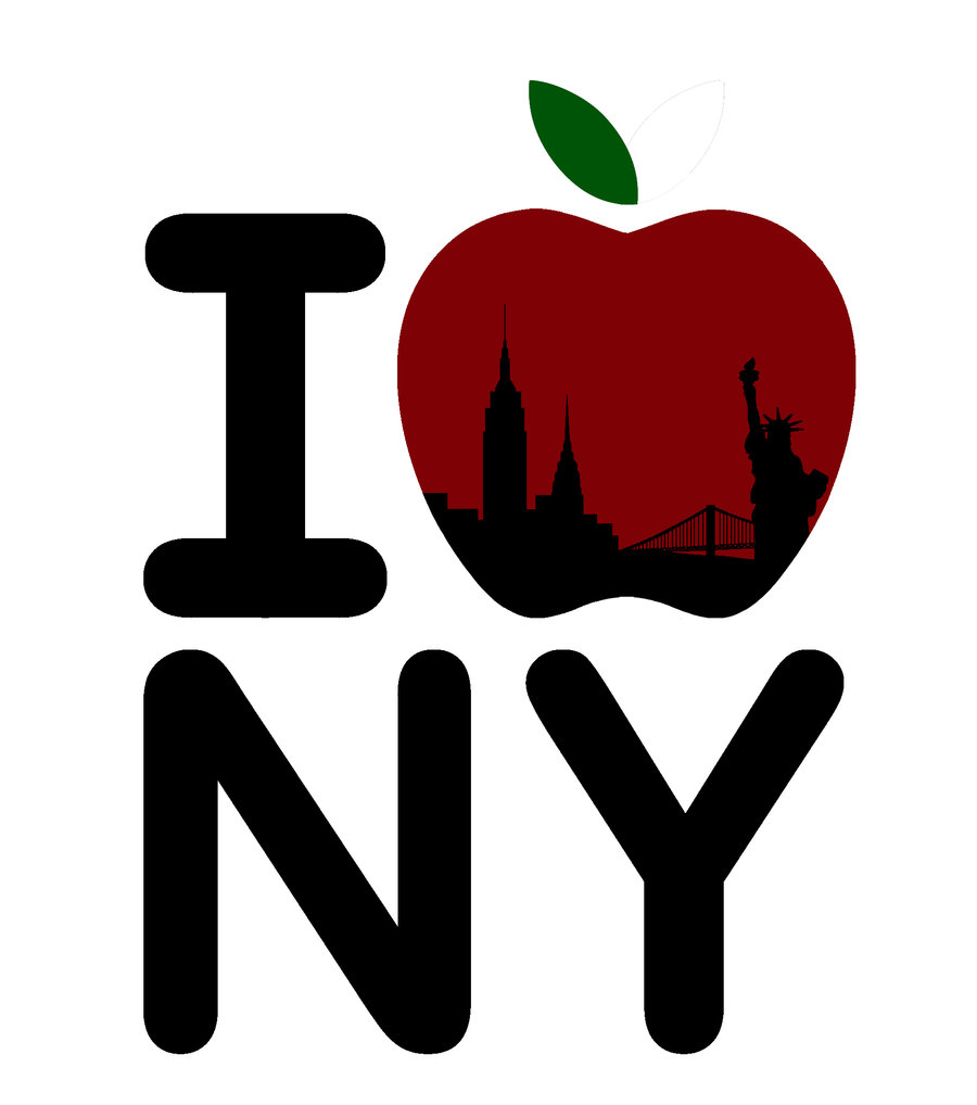 Heart The Big Apple Clipart - Free Clip Art Images - Cliparts.co