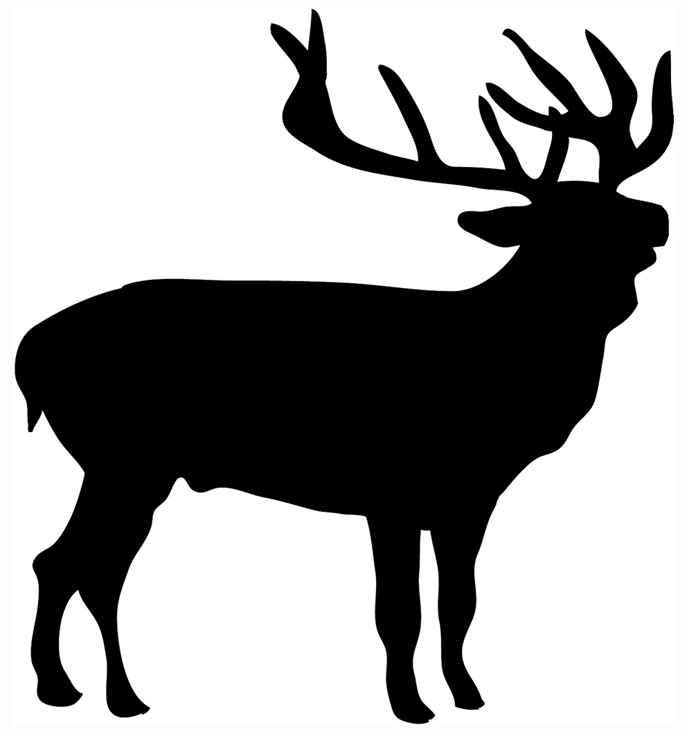 Deer Silhouettes - Cliparts.co