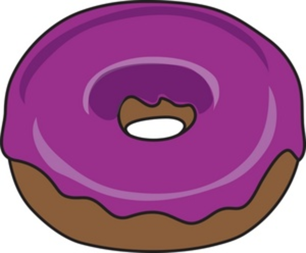 Donut | Free Images at Clker.com - vector clip art online, royalty ...