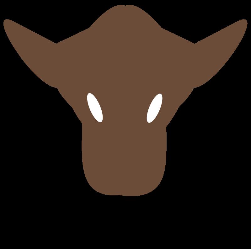 free deer head silhouette clip art - photo #41