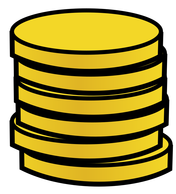 Stack Of Gold Coins Clip Art Download