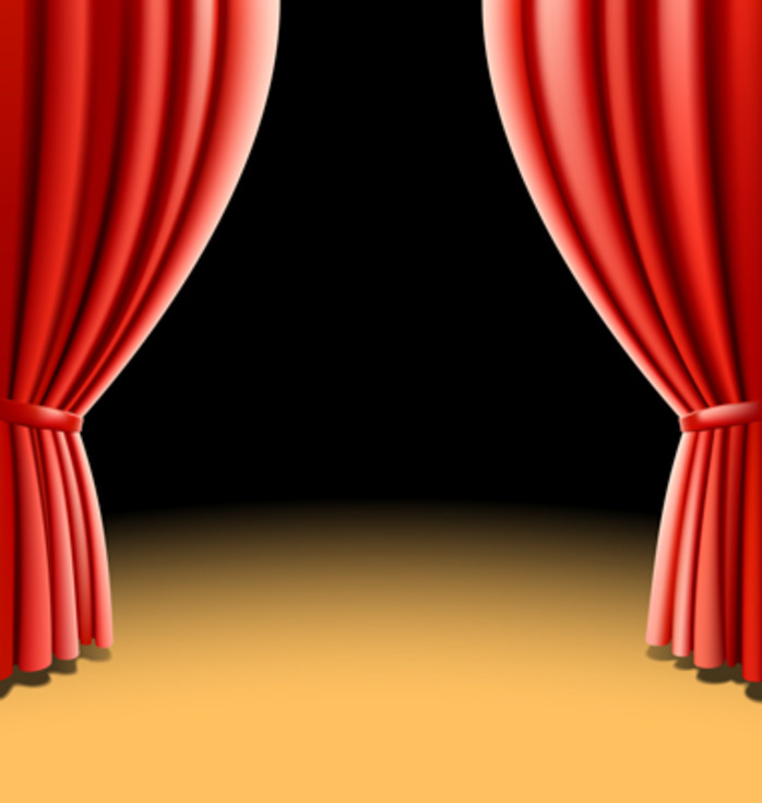 10 jenis stage curtain vector