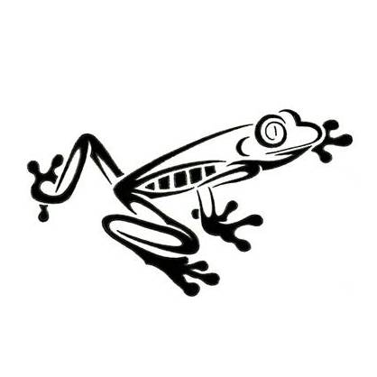 Cool Tree Frog Tattoo Stencil | Tattoobite.com