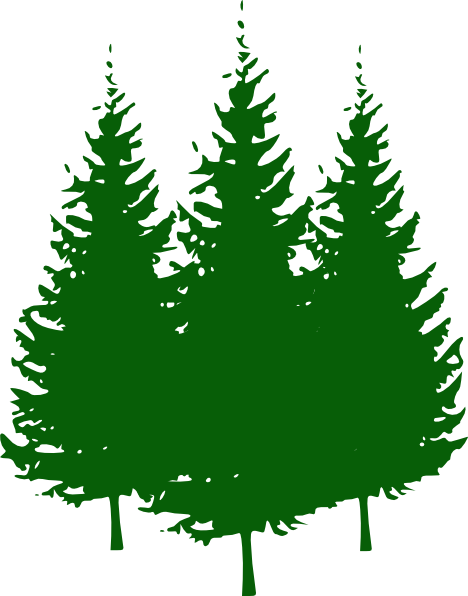 pine tree forest clipart rh worldartsme com clip art pine trees free clip art pine tree silhouette