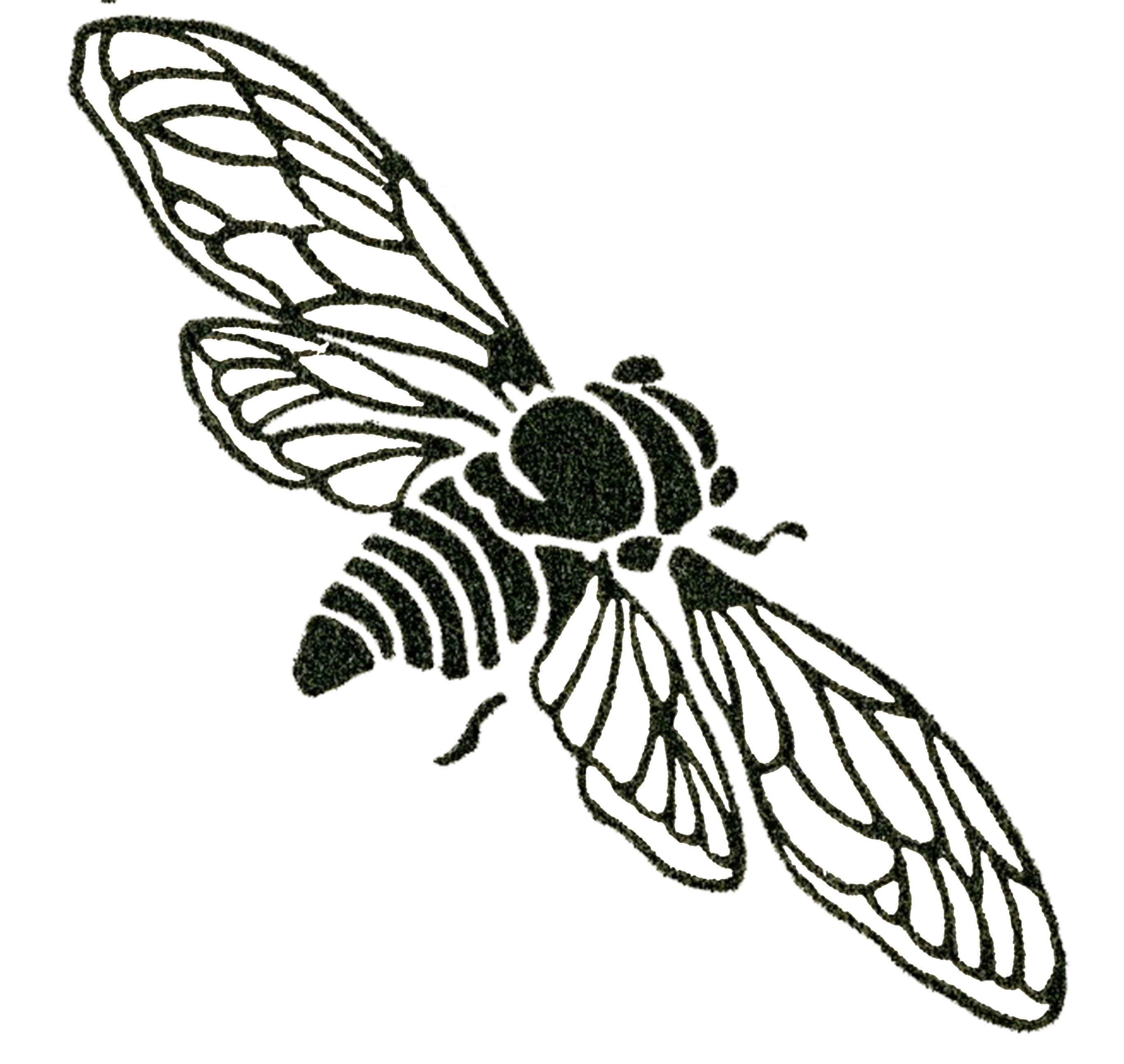 vintage bee clip art - photo #13