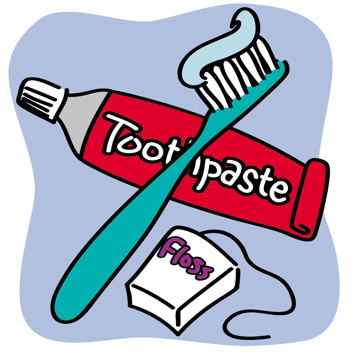Images For  gt  Kid Toothbrush And Toothpaste ClipartKid Toothbrush Clipart