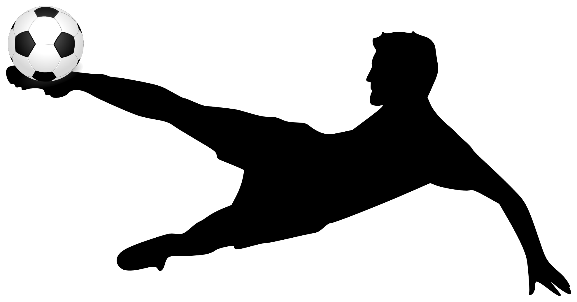 Soccer Player Vector - Cliparts.co