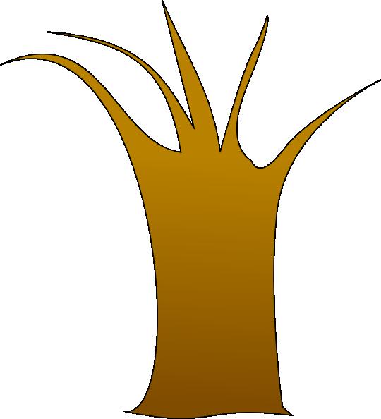 Tree Trunk clip art - vector clip art online, royalty free ...