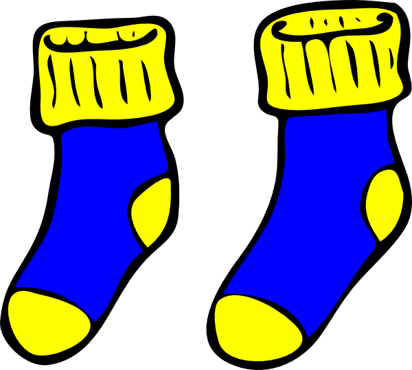clip art yellow socks clipart rh worldartsme com sock clip art black and white stock clipart free