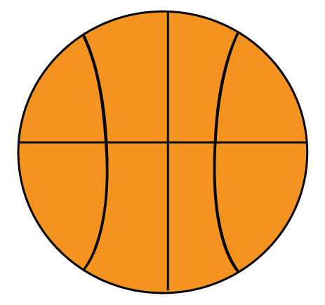 Free Basketball Clipart to use for party decor, craft projects ...