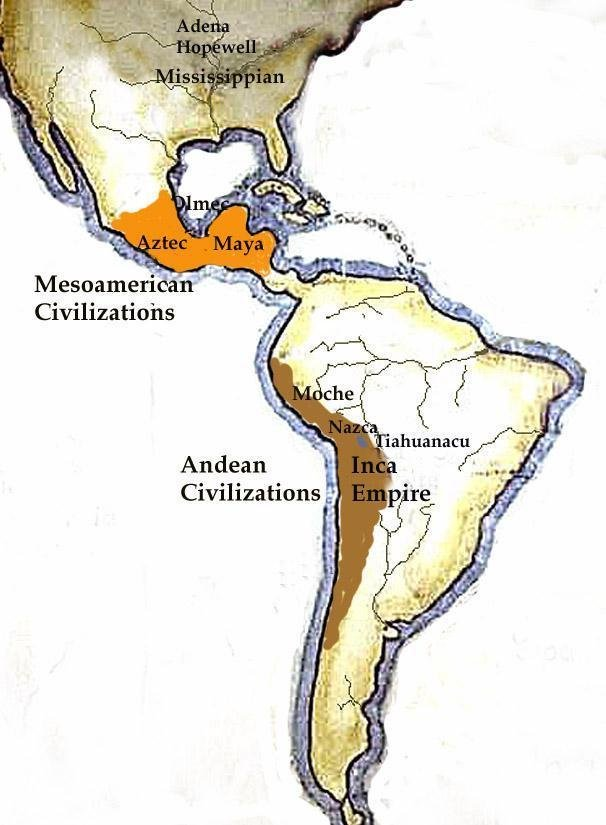 the history of the greatest civilizations in americas aztecs and incas
