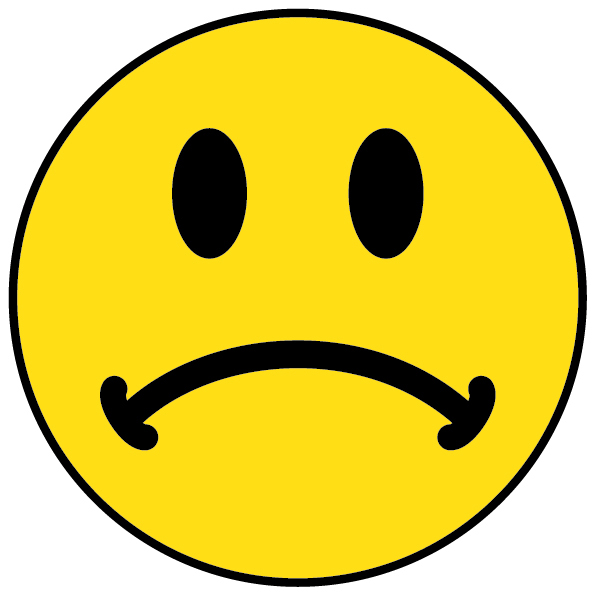 Happy Face And Sad Face Clip Art - ClipArt Best