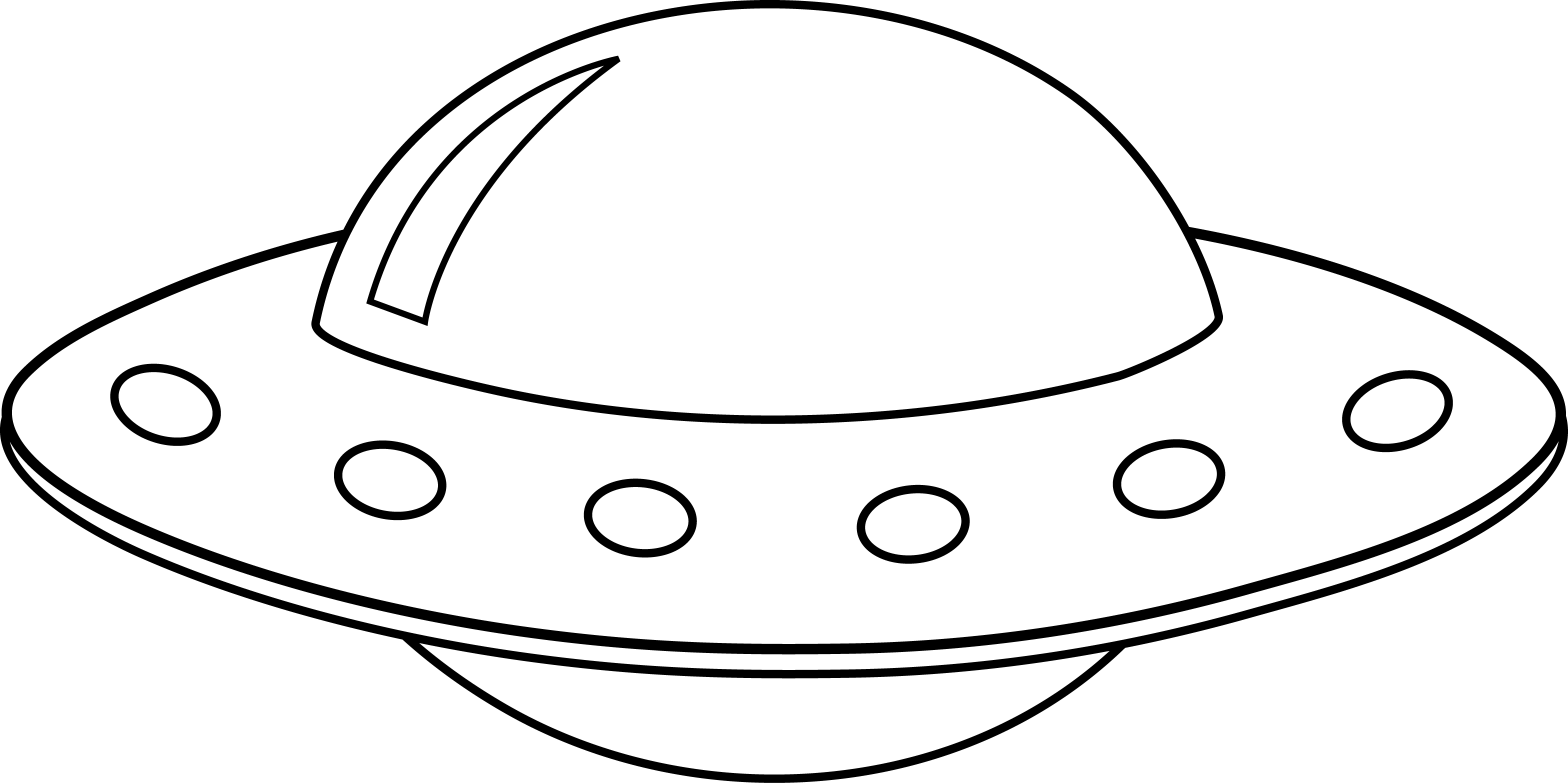 alien clipart black and white - photo #15