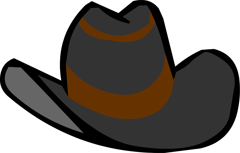 Black Cowboy Hat Clothing Icon ID 433.png