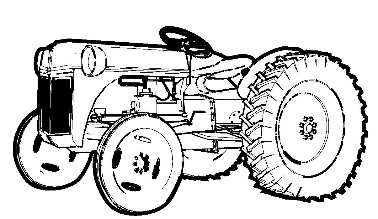 Cartoon John Deere Tractor - Cliparts.co
