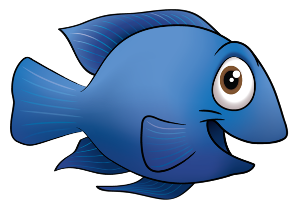 cartoon of fish