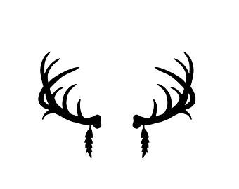 Deer Head Silhouette Clip Art - Cliparts.co