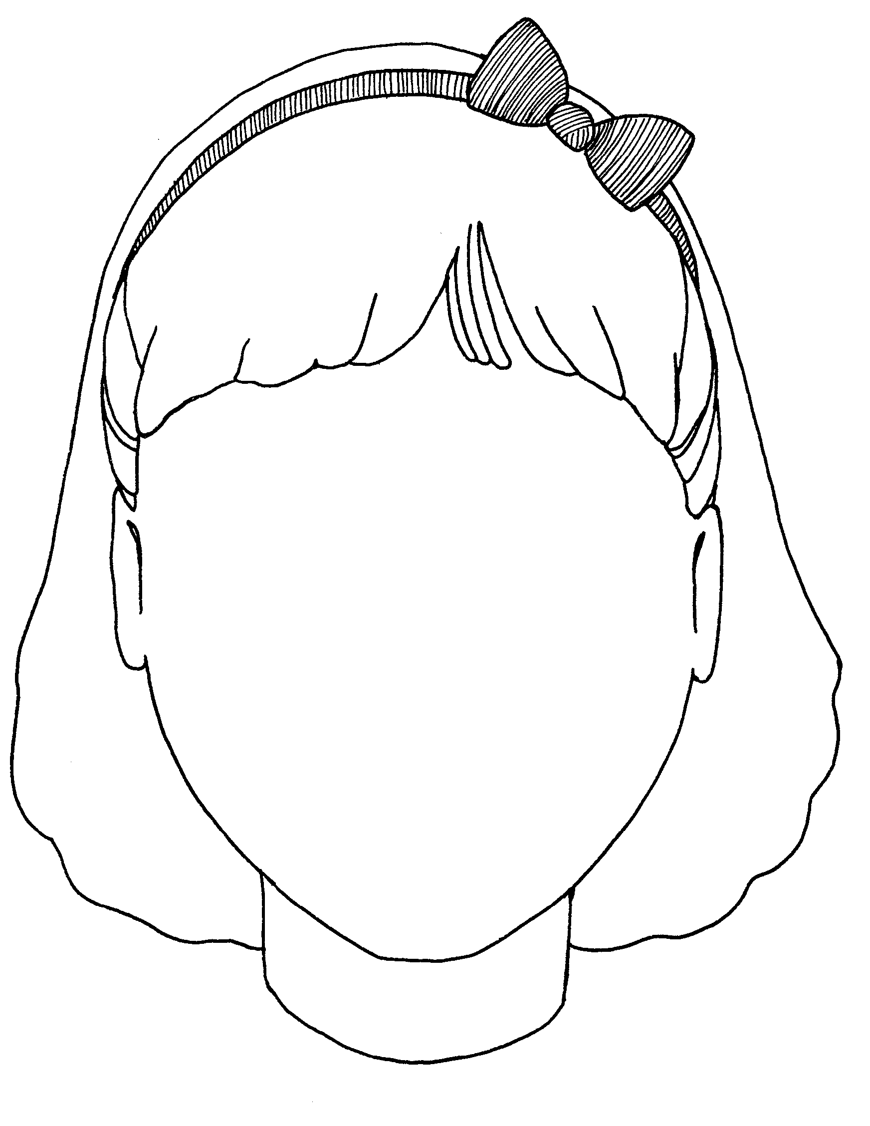 Blank Gingerbread Girl Coloring Pages Lektonfo