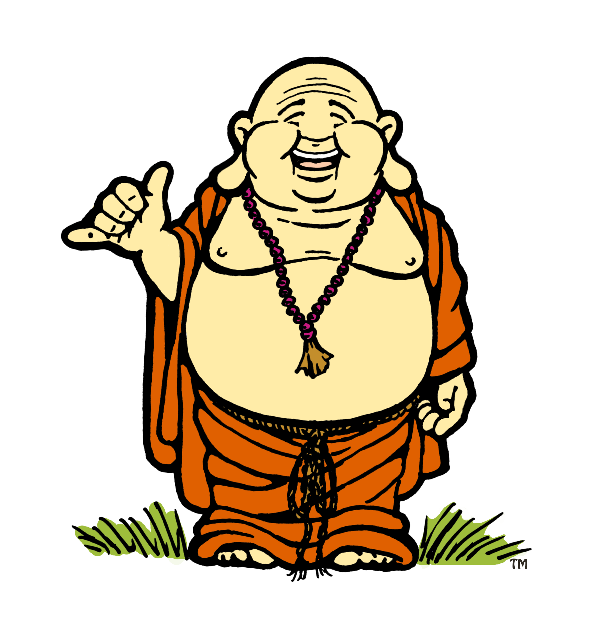 Image Gallery laughing buddha cartoon