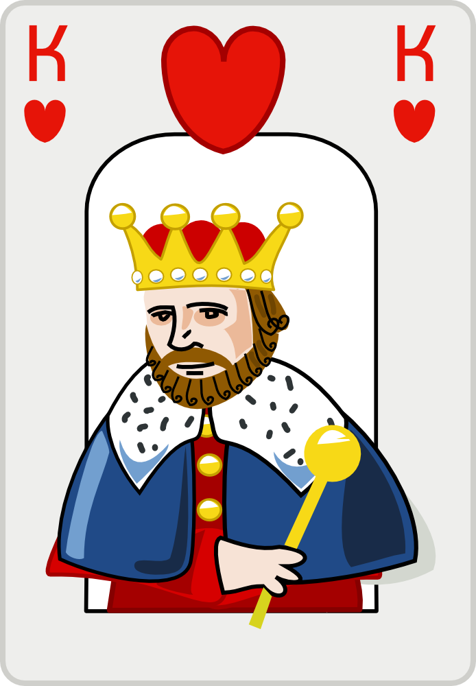 Mean King Clipart