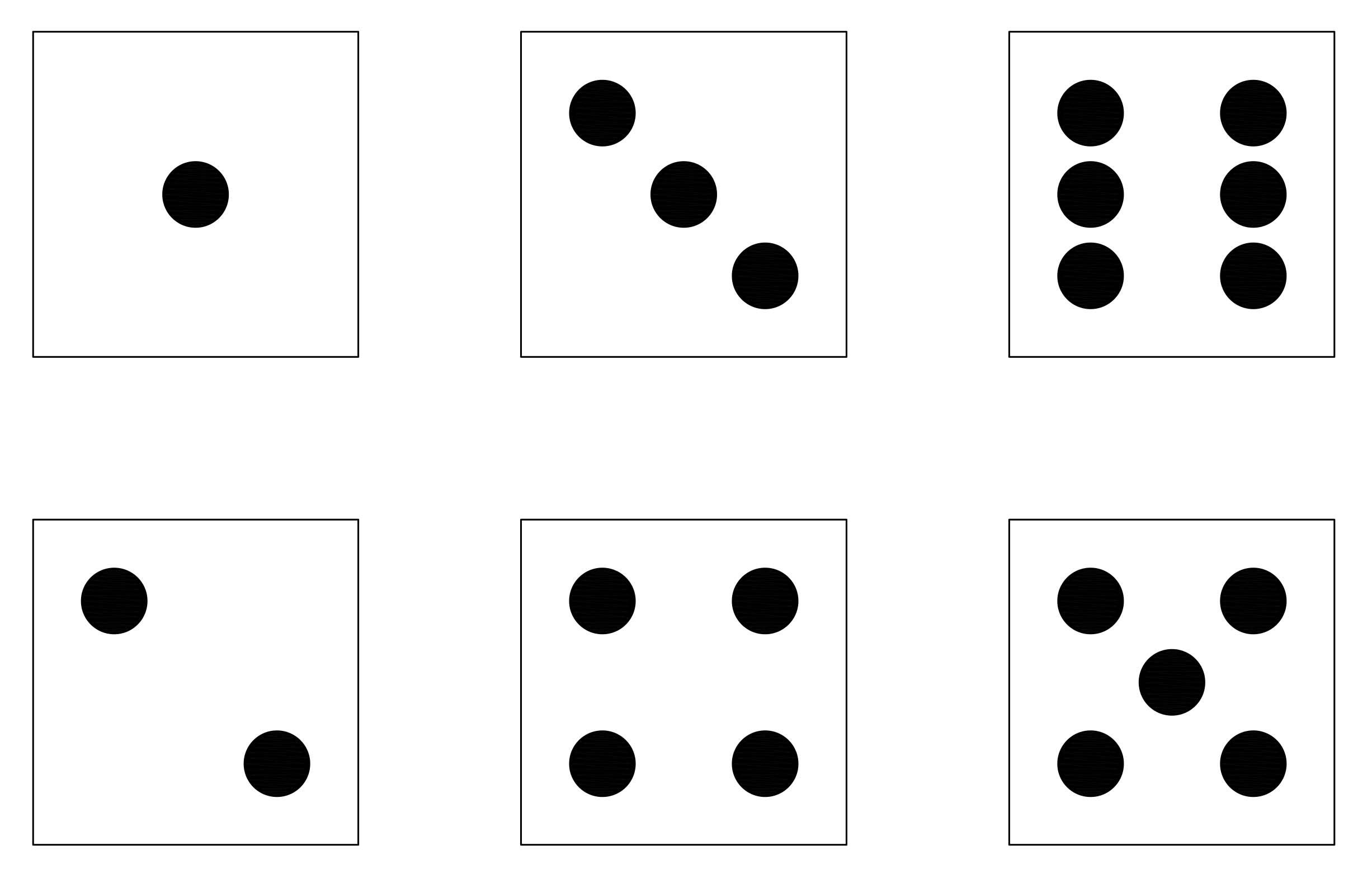 10 sided dice images 1-6