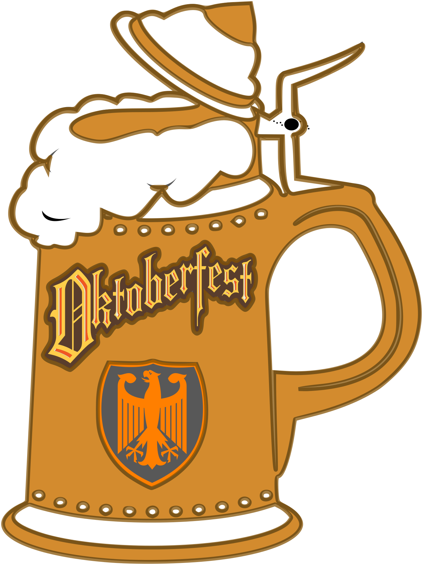 beer stein clipart free - photo #15