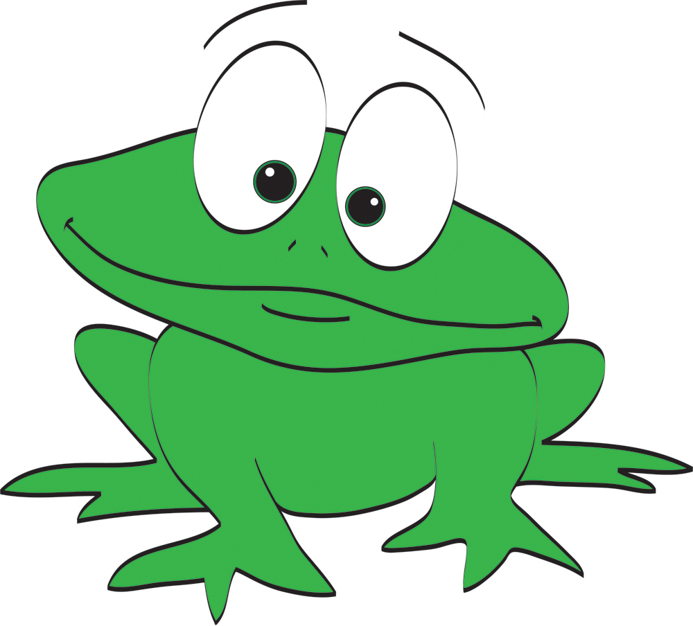 Cartoon frog - photo#37