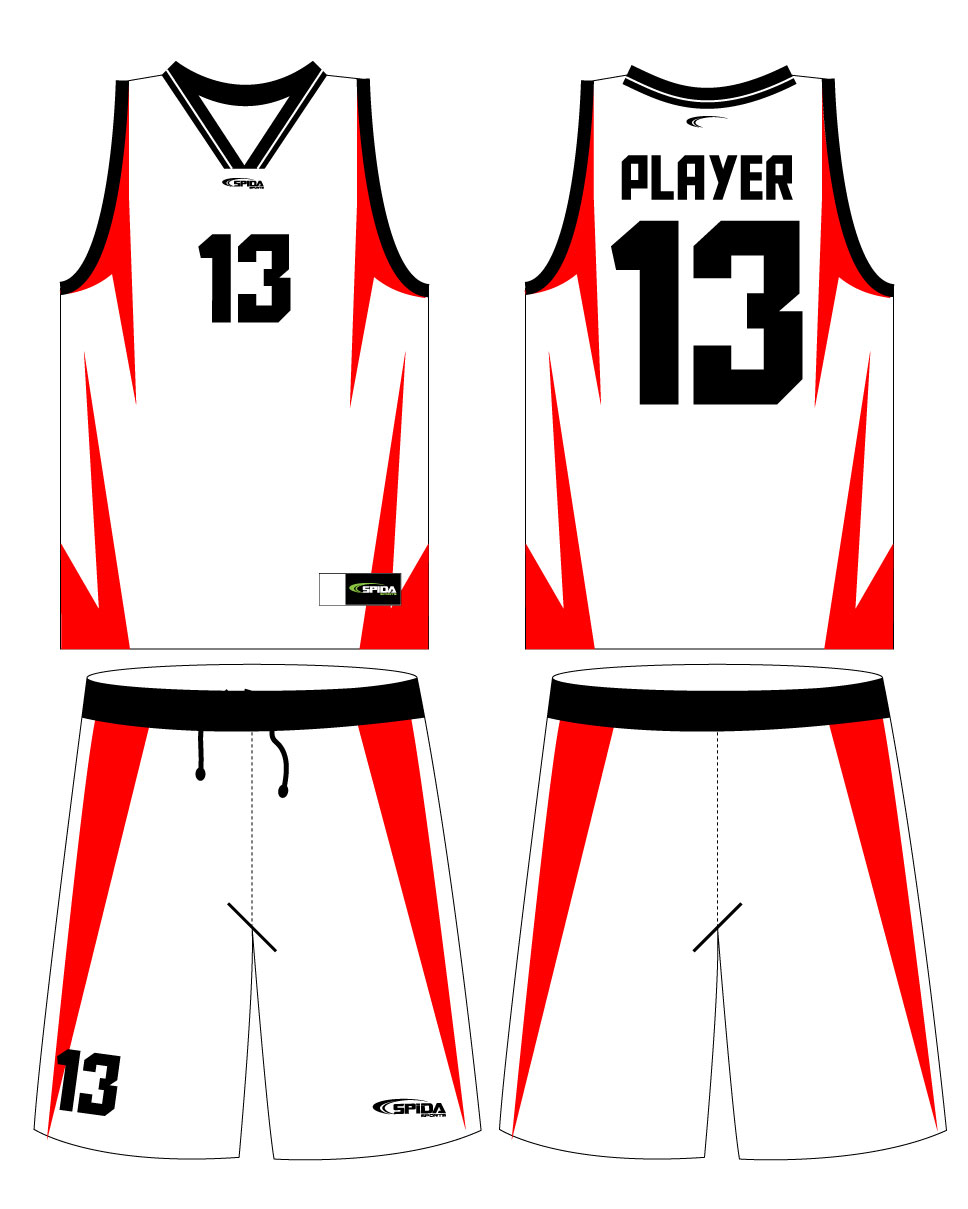 Blank Basketball Jersey Template - Cliparts.co