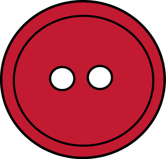Red Button Clip Art - Red Button Image