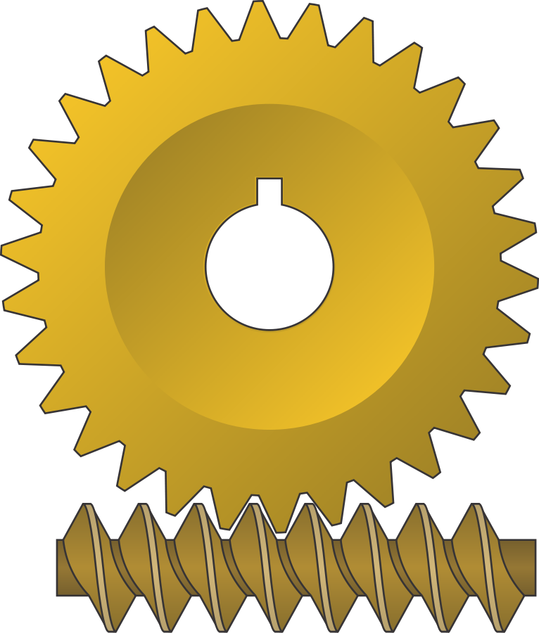 Two Gears Gray Clipart, vector clip art online, royalty free ...