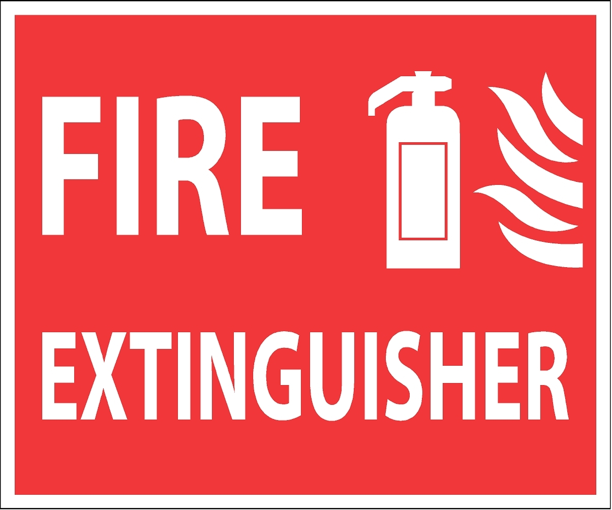 Punchy image with regard to printable fire extinguisher signs