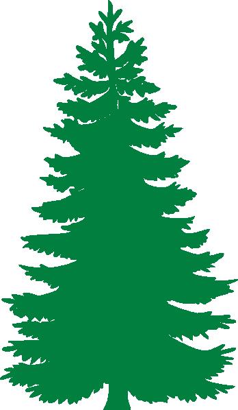 Pine Tree clip art - vector clip art online, royalty free & public ...