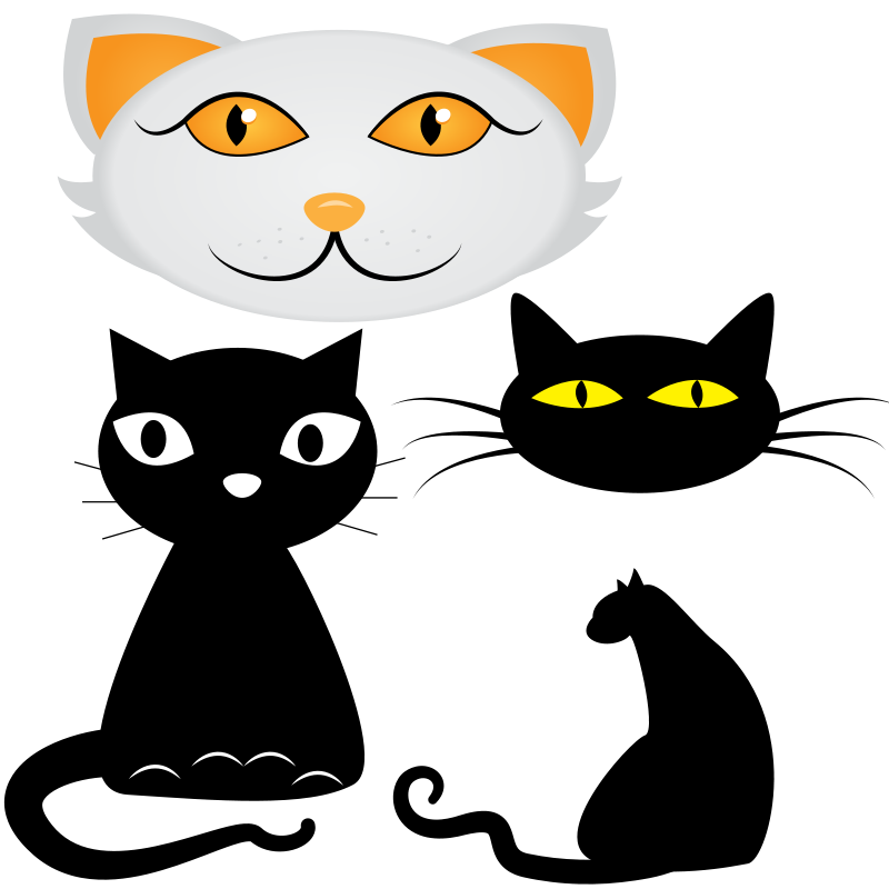 Cartoon Cat With Big Eyes Widescreen 2 HD Wallpapers ...