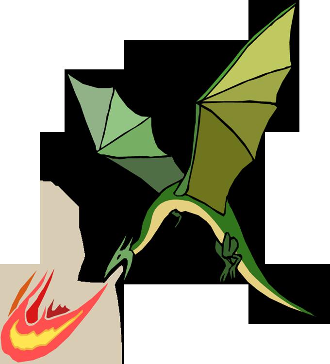 Cartoon Dragon Tattoo - Cliparts.co