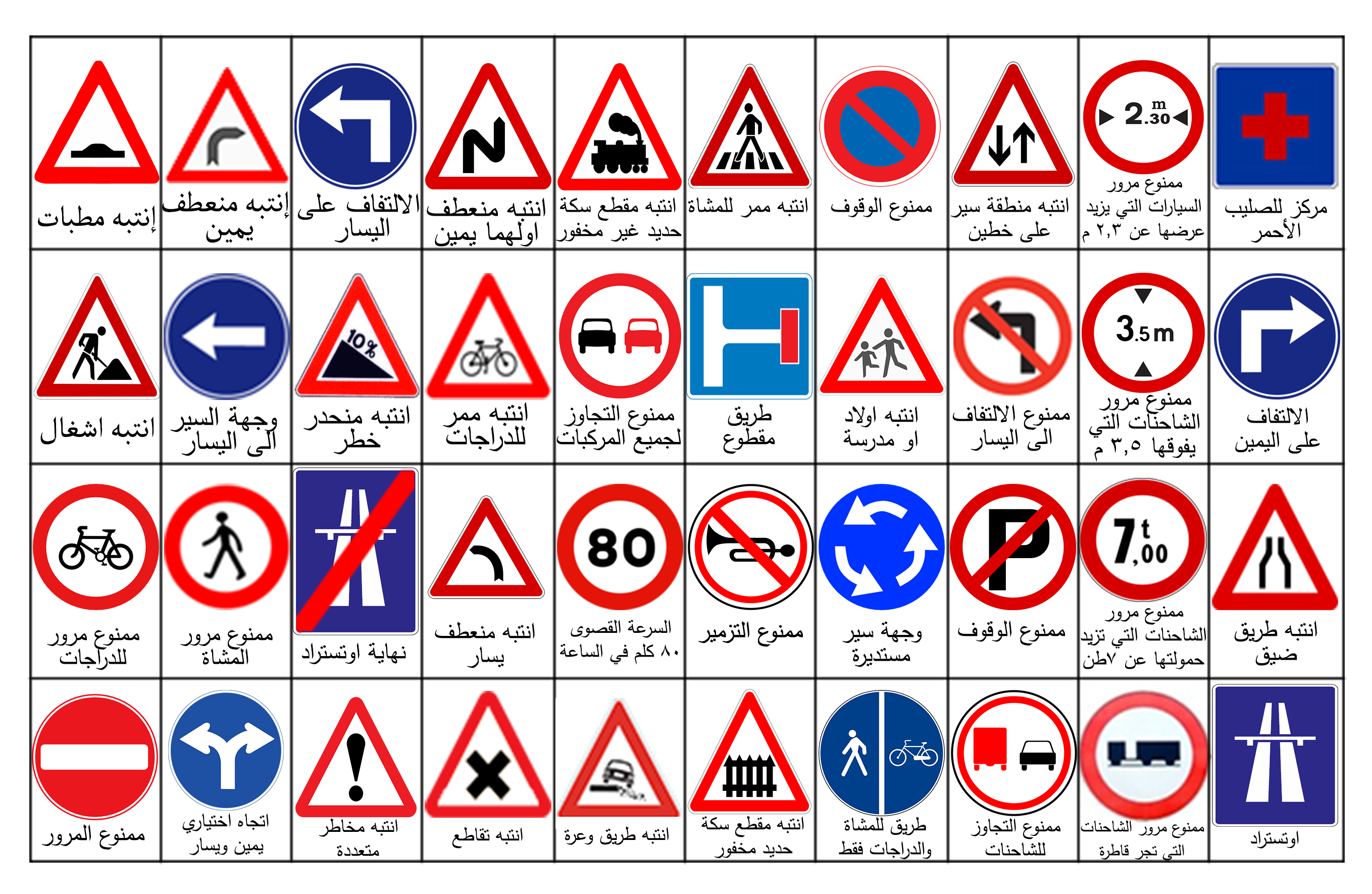 Road Signs Images And Meanings >> Traffic Signs - Cliparts.co