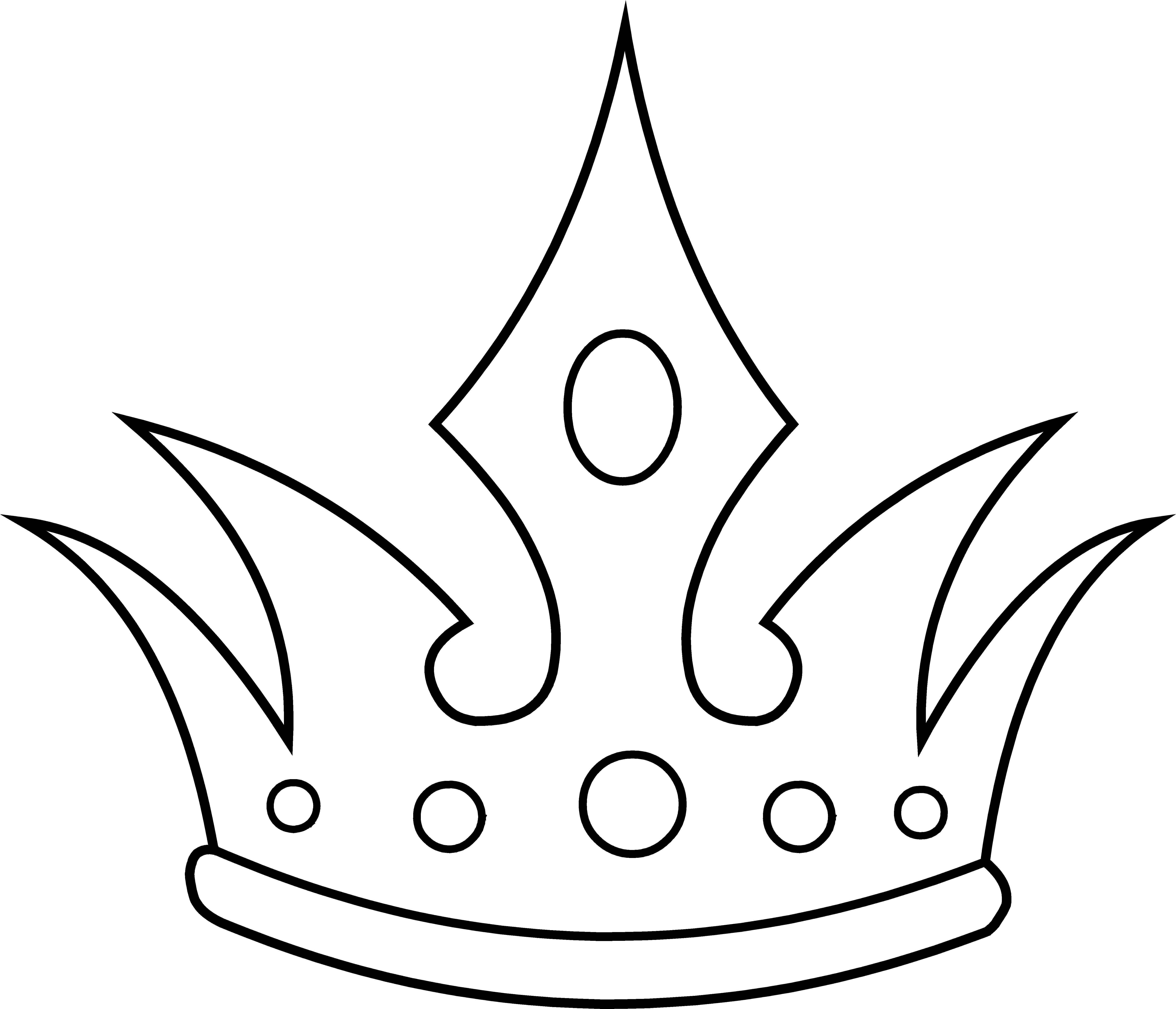 Royal Crown Clipart Black And White Queen Crown Clipart Black And