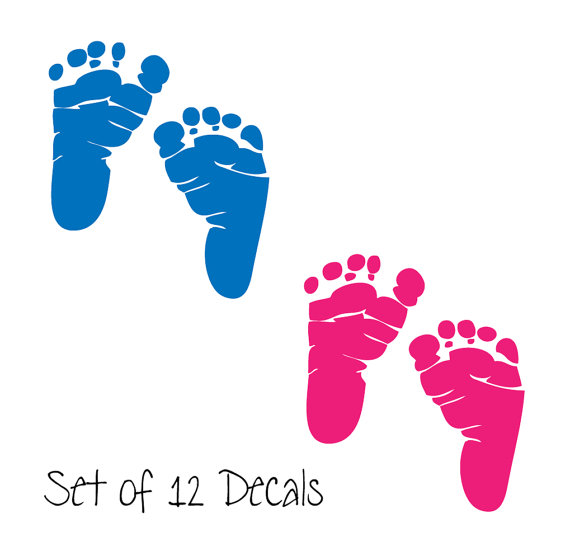 Baby Footprints - Cliparts.co