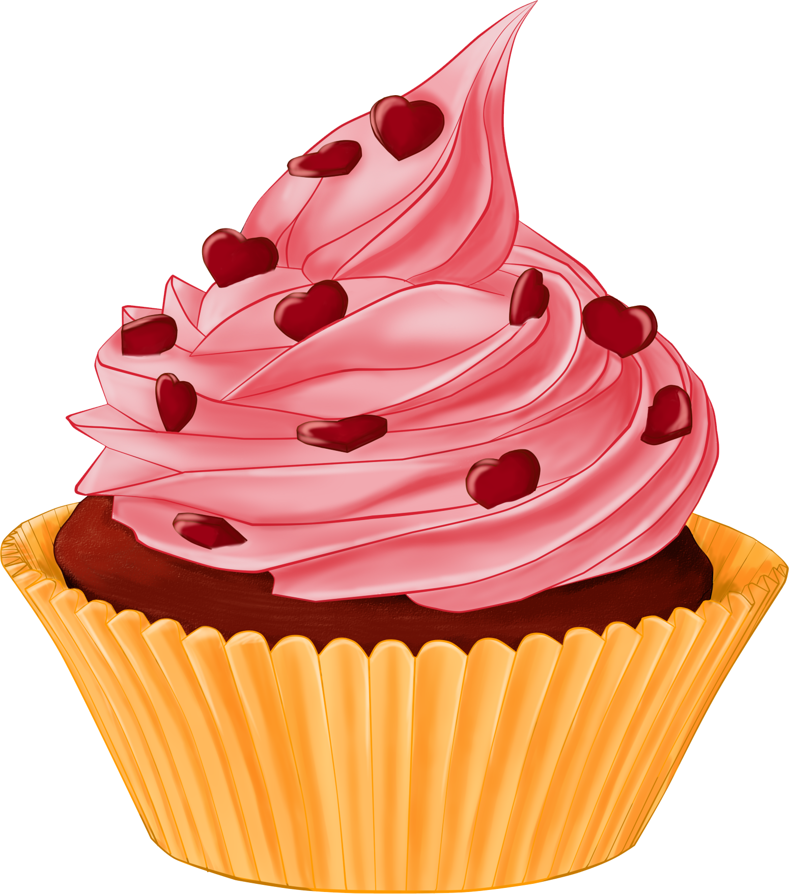Cupcake Drawing Images : Cupcakes Drawing - Cliparts.co