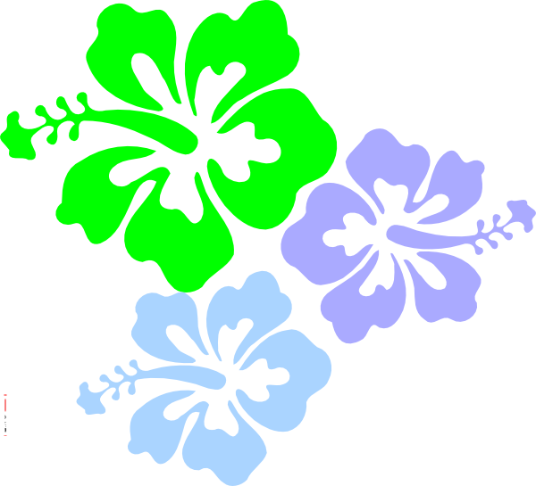 Hibiscus Flower Clip Art at Clker.com - vector clip art online ...