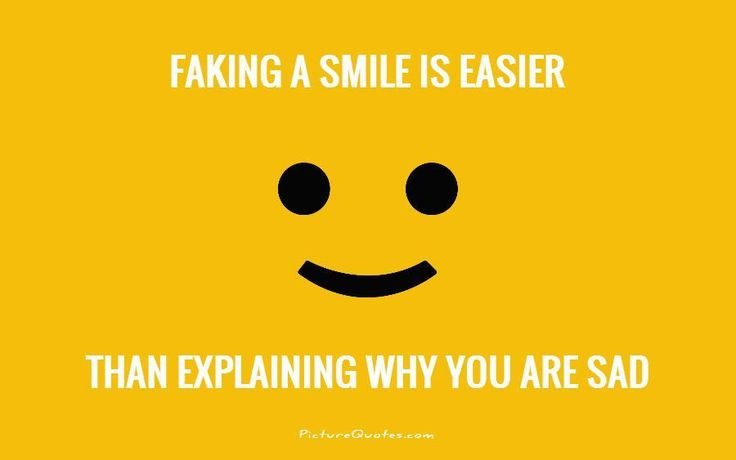 Rather Than Explain Why You're Sad. [SMILEY