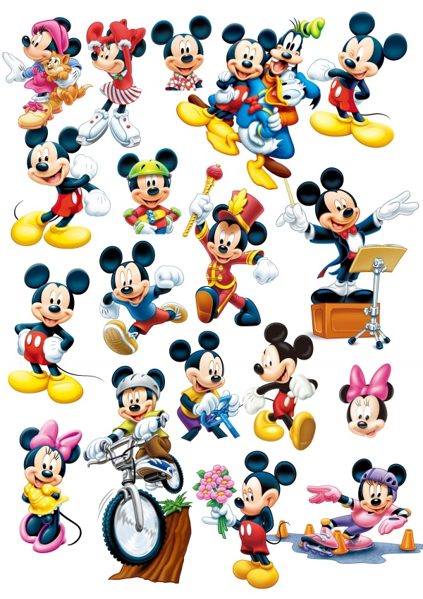 600 x 848 jpeg 241kB, Disney Mickey Mouse Icon PSD material | Free ...