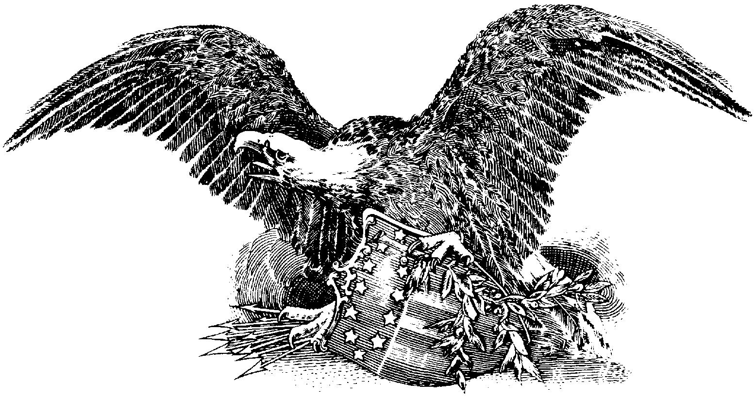 Eagle Clip Art Black And White - Cliparts.co