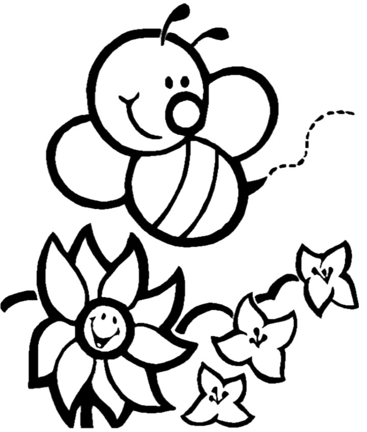 Cute Bee Pictures Clipartsco